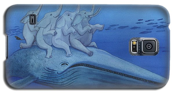 Having A Whale Of A Good Time Galaxy S5 Case