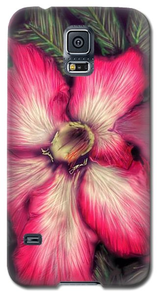 Hawaii Flower Galaxy S5 Case by Darren Cannell