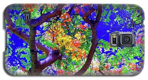 Hawaii Shower Tree Flowers Galaxy S5 Case