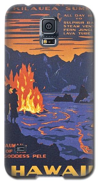 Hawaii Vintage Travel Poster Galaxy S5 Case
