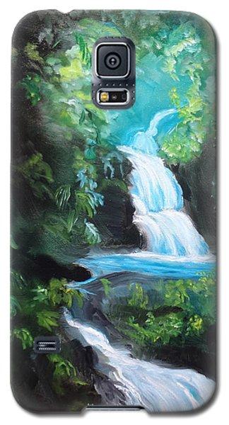 Hawaiian Waterfalls Galaxy S5 Case by Jenny Lee