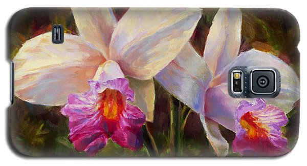 Hawaiian Bamboo Orchid Galaxy S5 Case