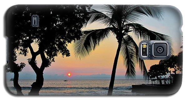 Hawaiian Big Island Sunset  Kailua Kona  Big Island  Hawaii Galaxy S5 Case