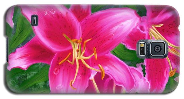 Hawaiian Flowers Galaxy S5 Case