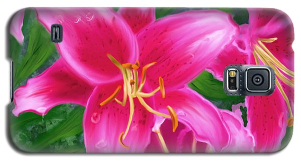 Hawaiian Flowers Galaxy S5 Case