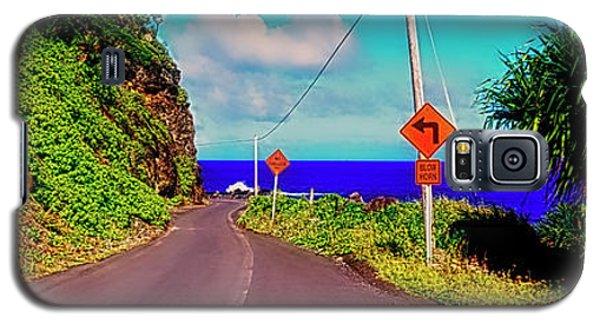 Hawaiian Mountian Road  Galaxy S5 Case
