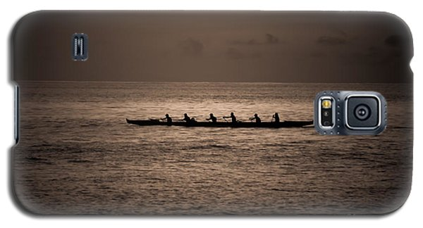 Galaxy S5 Case featuring the photograph Hawaiian Outrigger by Kelly Wade