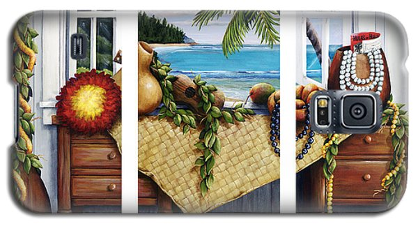 Hawaiian Still Life With Haleiwa On My Mind Galaxy S5 Case by Sandra Blazel - Printscapes