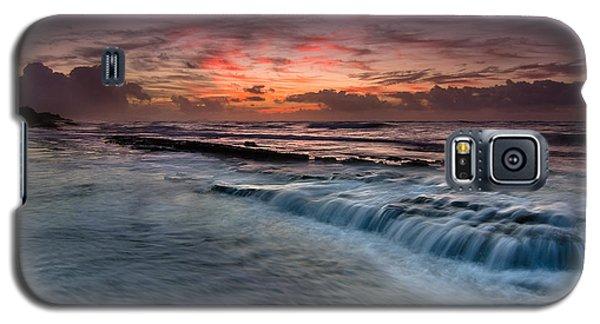 Hawaiian Sunrise Galaxy S5 Case