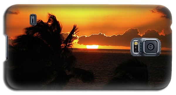 Galaxy S5 Case featuring the photograph Hawaiian Sunset by Anthony Jones
