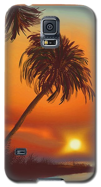 Hawaiian Sunset Galaxy S5 Case