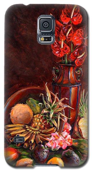 Hawaiian Tropical Fruit Still Life Galaxy S5 Case