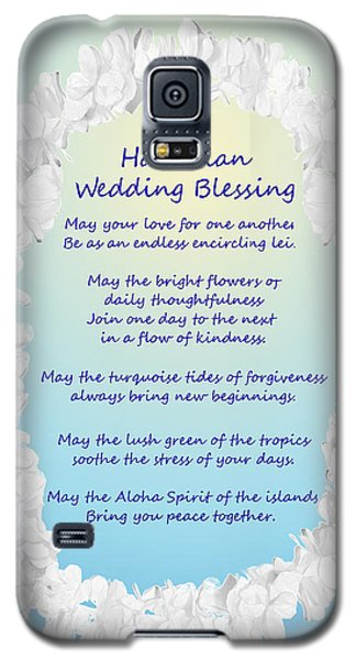 Hawaiian Wedding Blessing Galaxy S5 Case