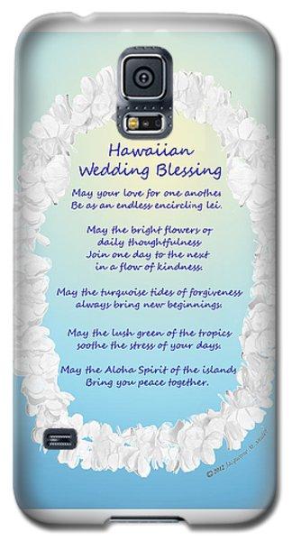 Hawaiian Wedding Blessing Galaxy S5 Case