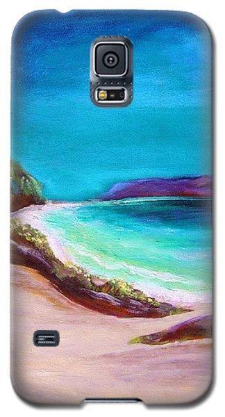 Hawaiin Blue Galaxy S5 Case by Patricia Piffath