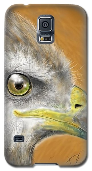 Hawk Galaxy S5 Case by Darren Cannell