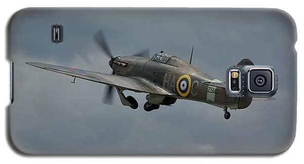 Galaxy S5 Case featuring the photograph Hawker Hurricane Mk Xii  by Tim Beach