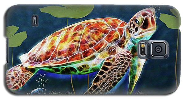 Hawksbill Sea Turtle Galaxy S5 Case