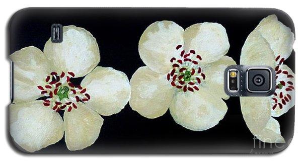 Hawthorn Flowers Galaxy S5 Case