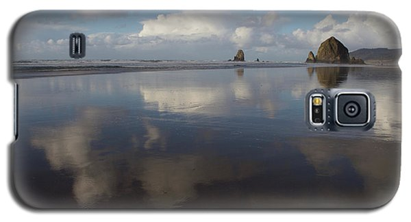 Galaxy S5 Case featuring the photograph Haystack Needles Horizon Fc by Dylan Punke