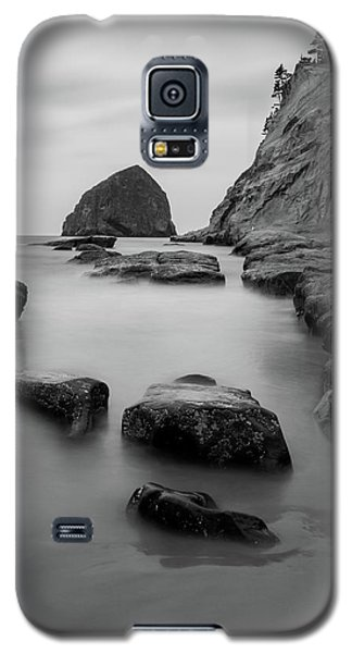 Haystack Rock In Bw Galaxy S5 Case
