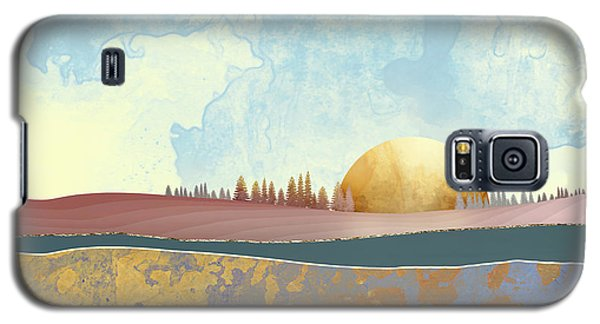 Landscapes Galaxy S5 Case - Hazy Afternoon by Katherine Smit
