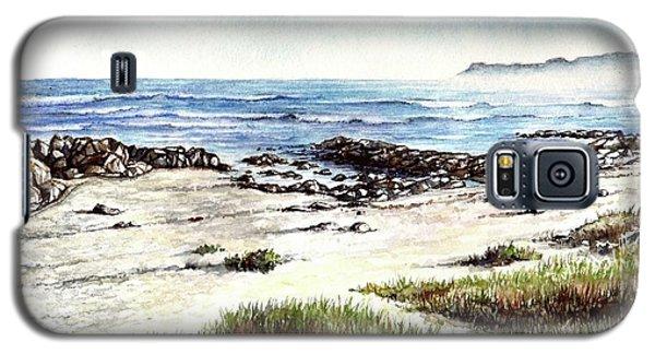 Galaxy S5 Case featuring the painting Hazy Coastline by Heidi Kriel