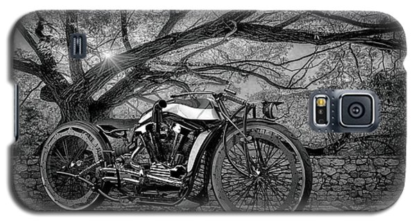 Galaxy S5 Case featuring the photograph Hd Cafe Racer  by Louis Ferreira