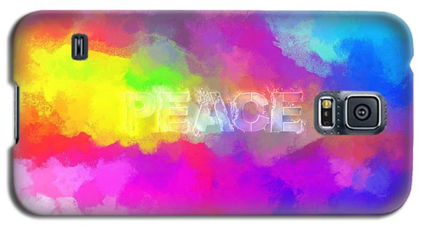 He Gives A Powerful Peace Galaxy S5 Case