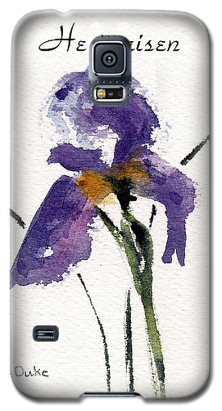 Galaxy S5 Case featuring the painting He Is Risen by Anne Duke