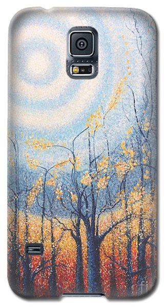 Galaxy S5 Case featuring the painting He Lights The Way In The Darkness by Holly Carmichael