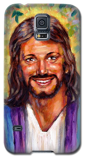 He Smiles Galaxy S5 Case by John Lautermilch