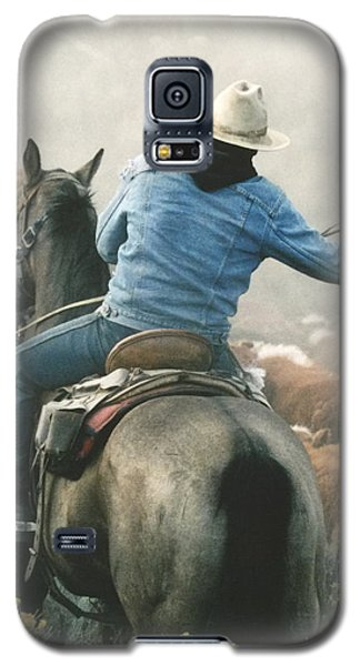 Head Em Up -  Move Em Out Galaxy S5 Case