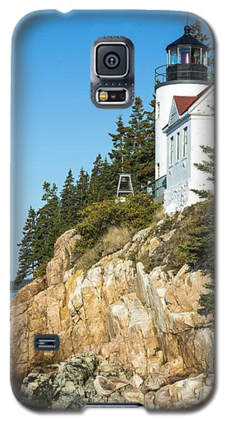 Galaxy S5 Case featuring the photograph Head Lighthouse by Anthony Baatz