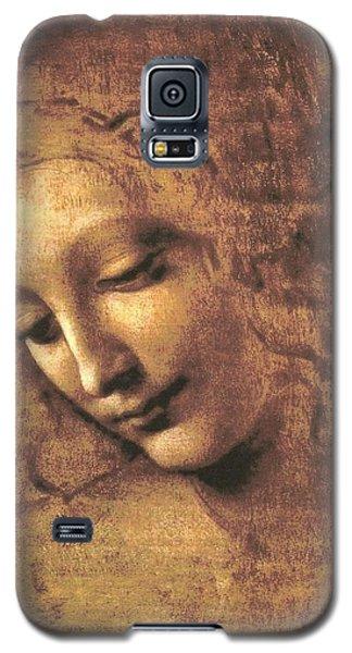 Head Of A Woman Galaxy S5 Case