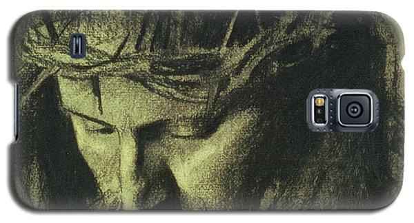 Religious Galaxy S5 Case - Head Of Christ by Franz Von Stuck