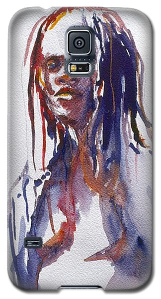 Head Study 3 Galaxy S5 Case