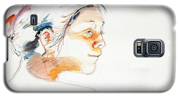 Head Study 9 Galaxy S5 Case