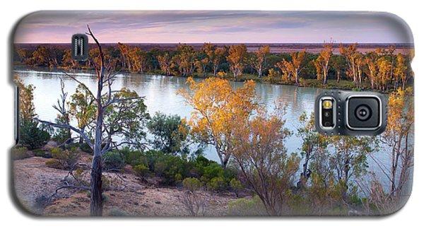Heading Cliffs Murray River South Australia Galaxy S5 Case