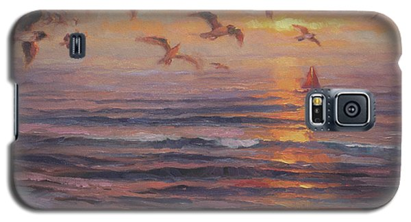 Seagull Galaxy S5 Case - Heading Home by Steve Henderson