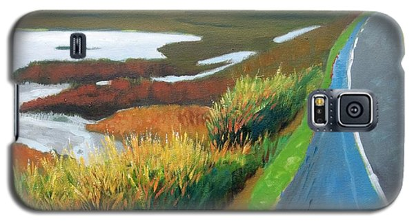 Galaxy S5 Case featuring the painting Heading North by Gary Coleman
