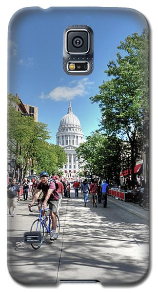 Heading To Camp Randall Galaxy S5 Case
