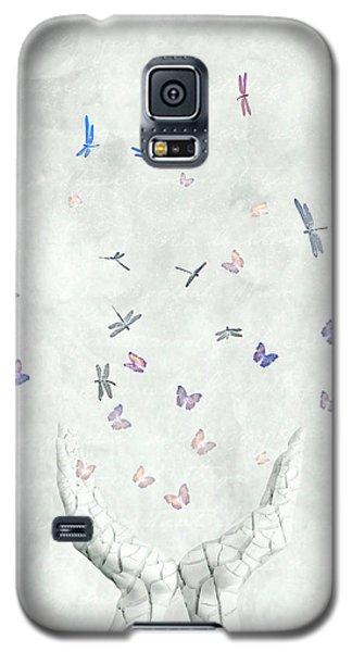Butterfly Galaxy S5 Case - Heal by Jacky Gerritsen