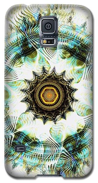 Galaxy S5 Case featuring the digital art Healing Energy by Anastasiya Malakhova
