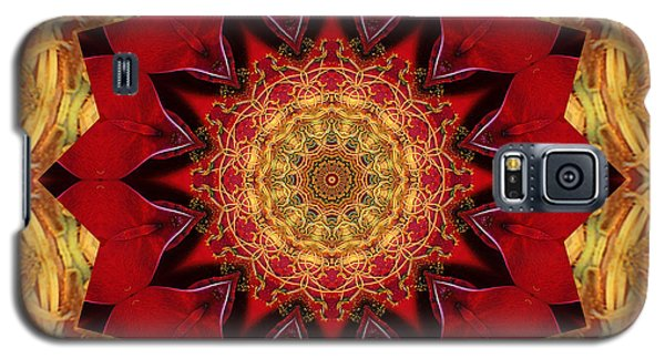 Galaxy S5 Case featuring the photograph Healing Mandala 28 by Bell And Todd
