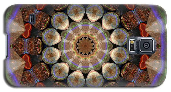 Galaxy S5 Case featuring the photograph Healing Mandala 30 by Bell And Todd