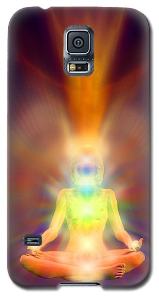 Galaxy S5 Case featuring the painting Healthy Aura by Robby Donaghey