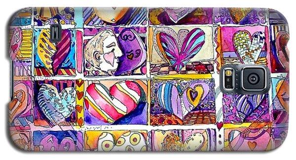 Heart 2 Heart Galaxy S5 Case by Mindy Newman