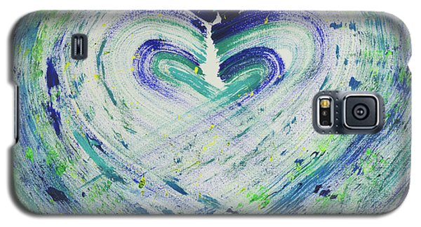 Heart Centered Peace And Love Galaxy S5 Case