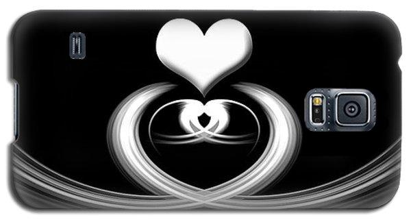 Heart Galaxy S5 Case by Cherie Duran